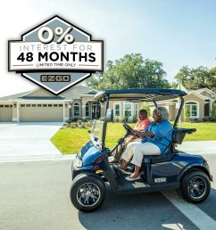 get 0 interest for 48 months with this finance offer that is available for a limited time only ezgo golf tsv elitepic twitter com u5ztndxicc [ 1080 x 1080 Pixel ]