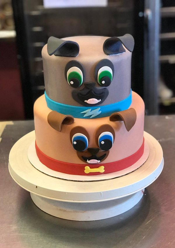 Disney Pals Puppy Dog Birthday Cake