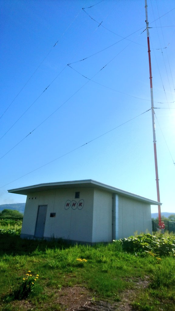 test ツイッターメディア - AMの街・江別民の私は送信所に引寄せられ。 NHK名寄送信所。 https://t.co/Gu3YS6KCVx