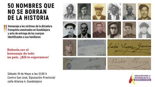 test Twitter Media - Estamos preparando el acto de entrega de los restos identificados de 22 personas asesinadas por la represión franquista en Guadalajara y sabemos que cuando los asesinaron se convirtieron en algo más que cadáveres; se convirtieron en semillas. https://t.co/O2vufLX9gA