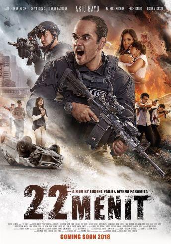 Hasil gambar untuk 22 Menit poster