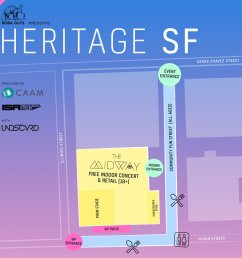 meet us at the midway sf 900 marin st san francisco today 4 10pm check the event map so you know where to go capacity is expected early arrive highly  [ 1000 x 1000 Pixel ]