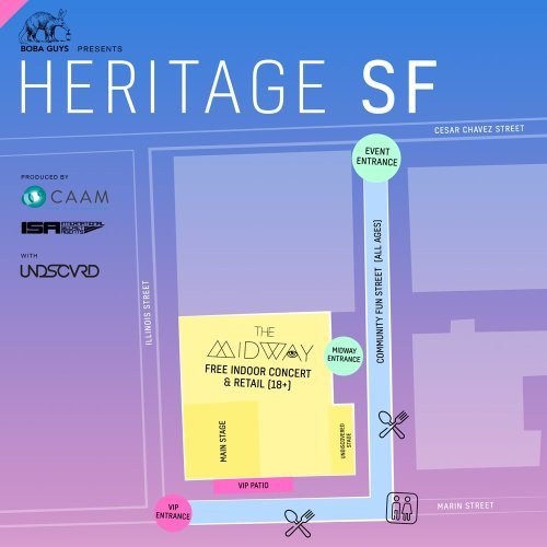 small resolution of meet us at the midway sf 900 marin st san francisco today 4 10pm check the event map so you know where to go capacity is expected early arrive highly
