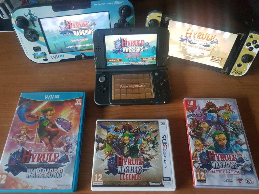 Hyrule Warriors games