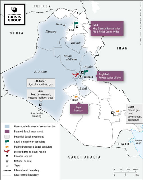 small resolution of the approach could benefit both states but not if it transforms iraq into yet another theatre for saudi iran hostilities