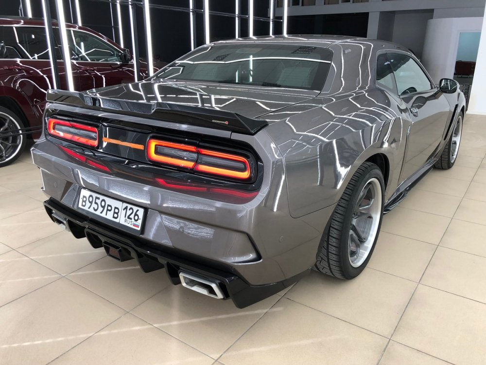 medium resolution of  side skirts diffuser front bumper inserts drls exhaust tips made of alluminum or stainless steel a rear brake light in f1 style mid spoiler