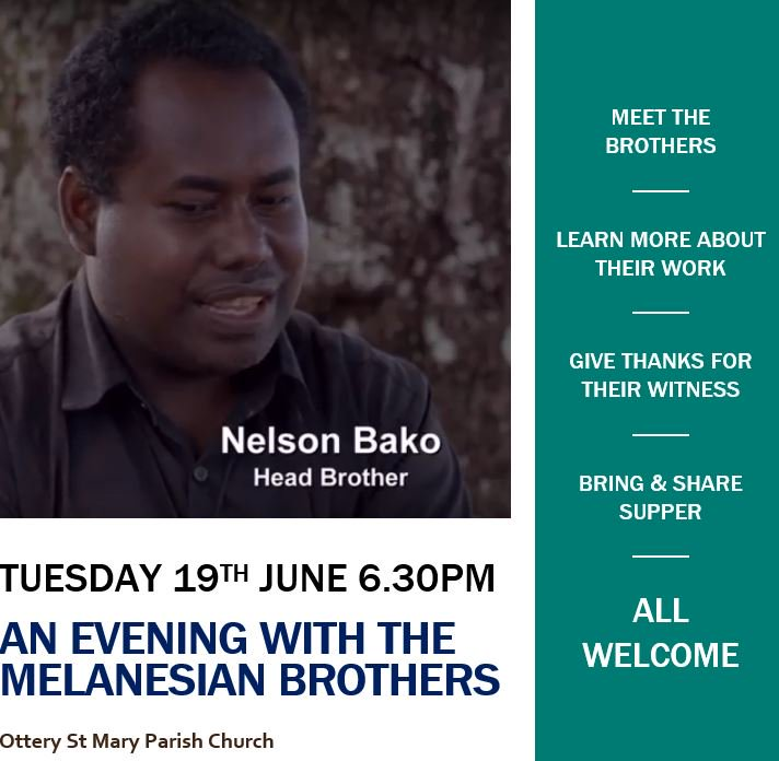 Head Brother Nelson and Section Elder Brother Michael will be in Exeter Diocese next month to share with supporters news of the Brotherhood's…