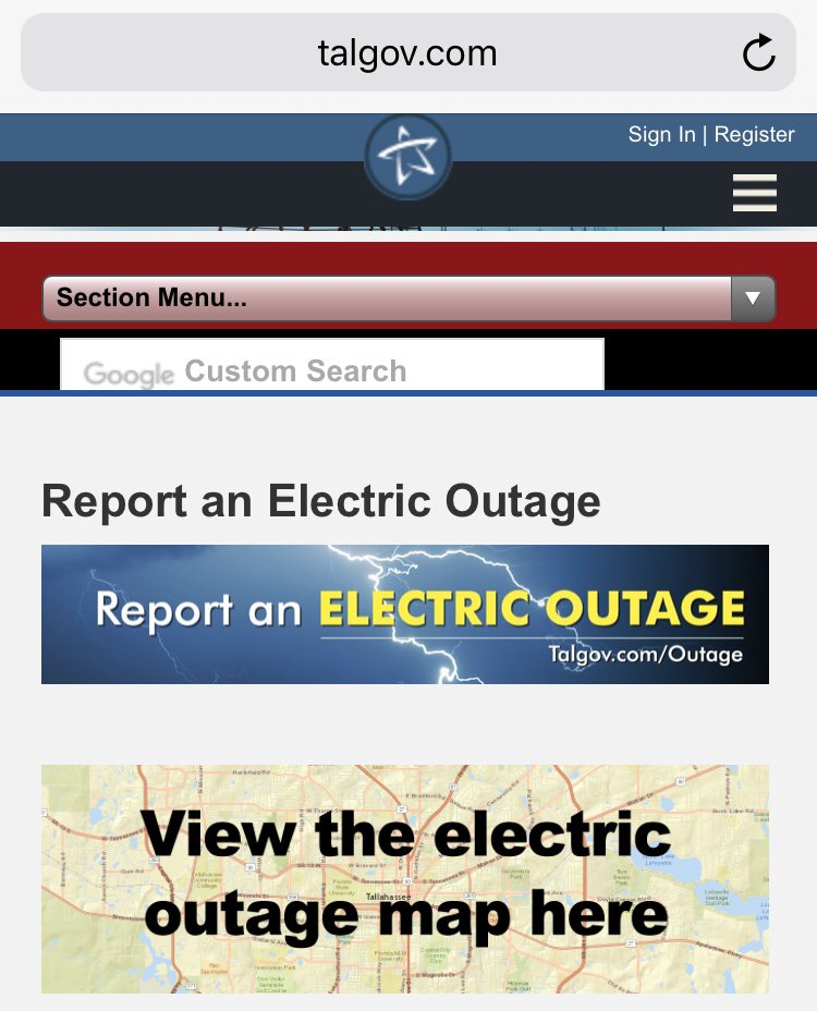 City Of Tallahassee Outage Map : tallahassee, outage, Tallahassee, Outage, Location, Catalog, Online