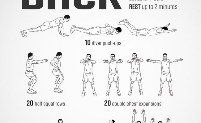 Darebee On Twitter Workout Of The Day Homemade Back