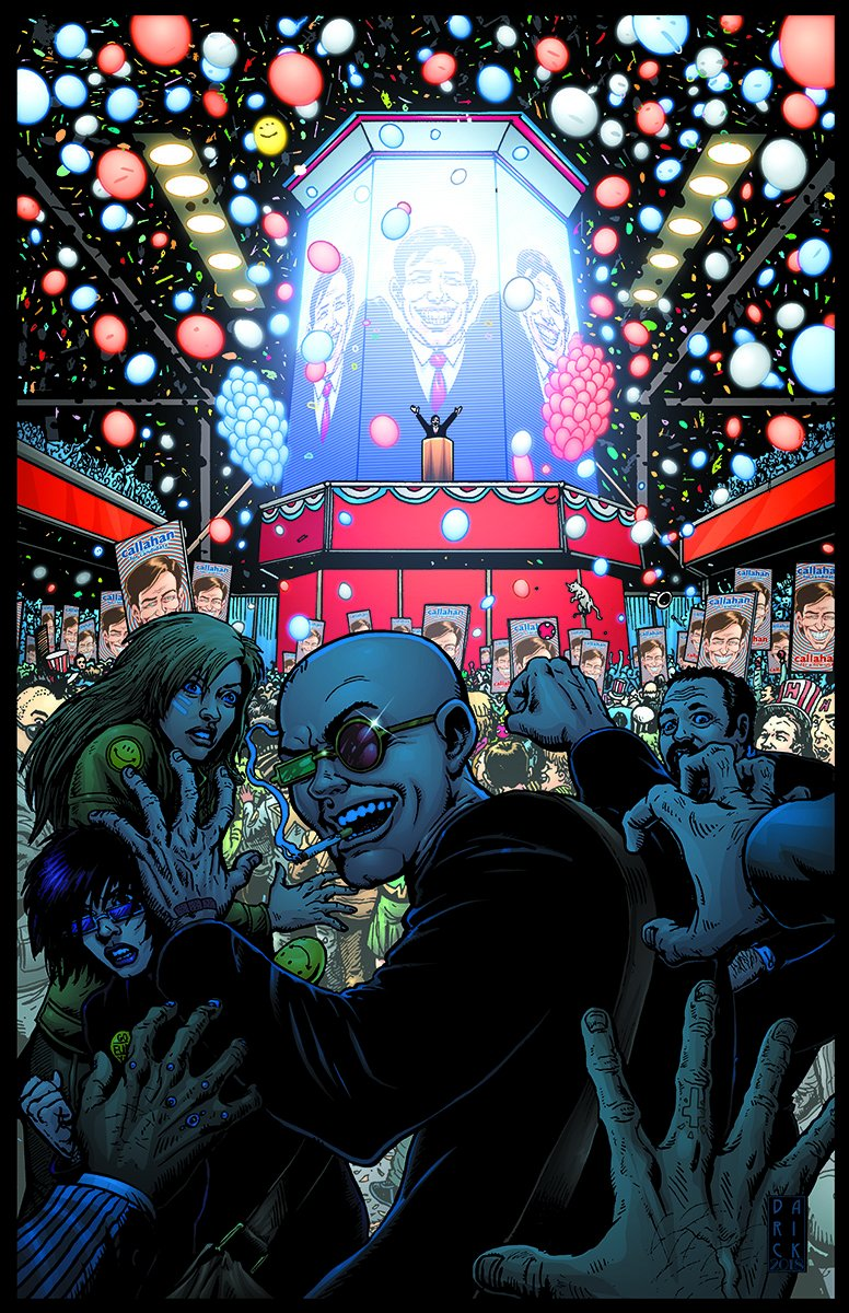 """Darick on Twitter: """"Incredible Nathan Eyering colors on the final covers  for Absolute #Transmetropolitan Vol.3… """""""