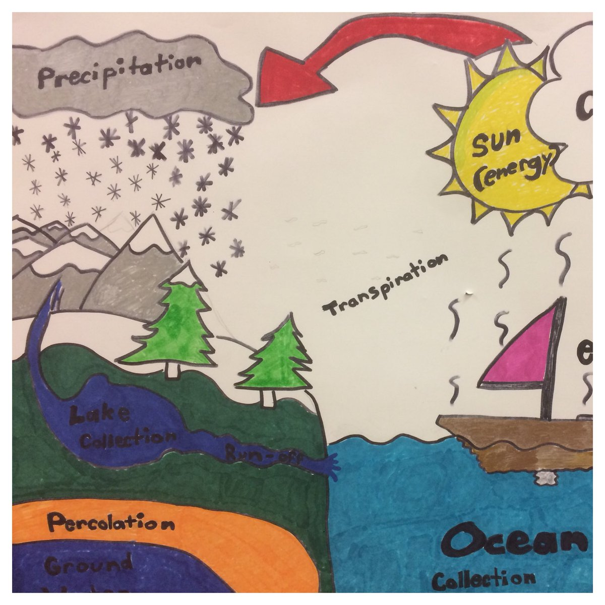 hight resolution of 7th grade water cycle posters excellent communication craftsmanship cmsrocks watercycle gosharkspic twitter com v3buf9qp5u
