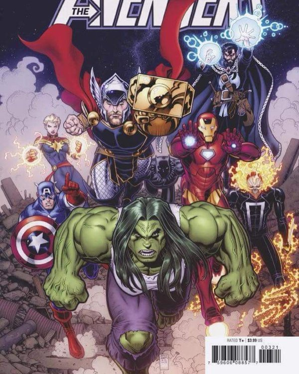 "Arthur Adams Twitter ""avengers #3 In Color. #avengers"