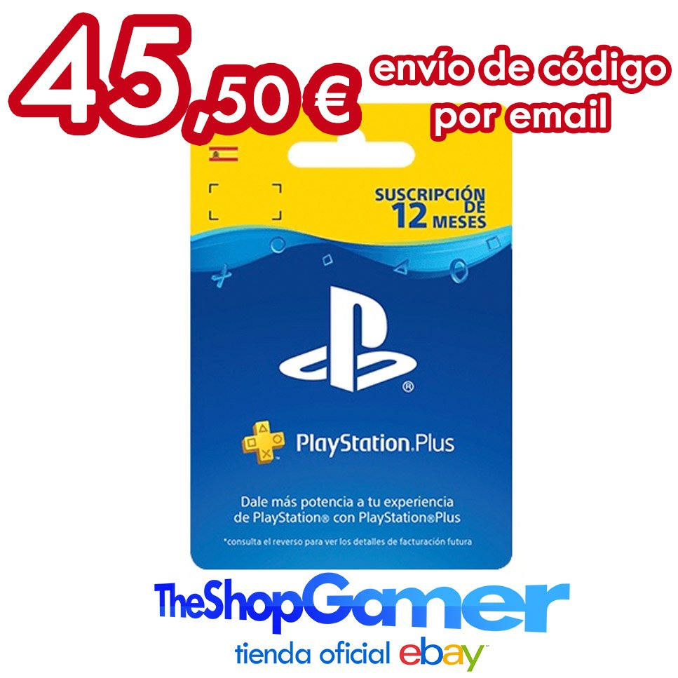 Suscripción Playstation Plus 12 Meses Theshopgamer On Twitter