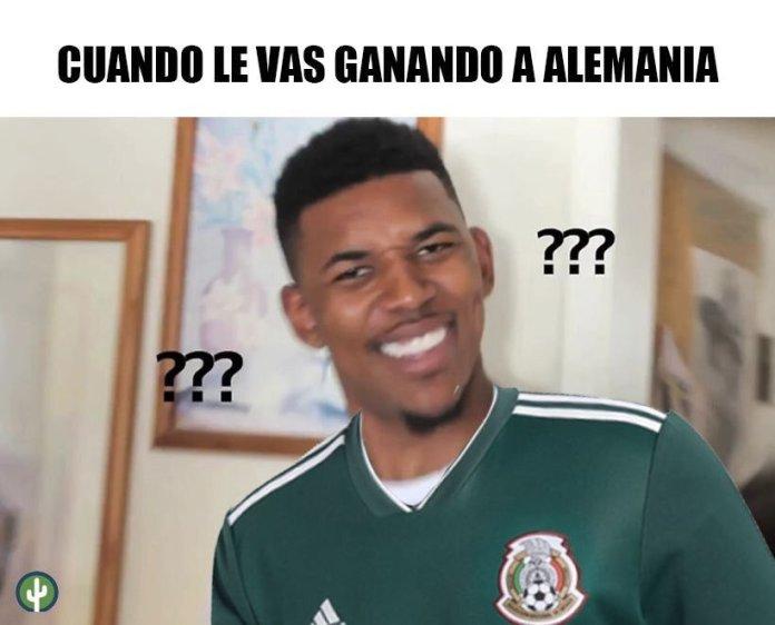 Memes del Alemania vs México