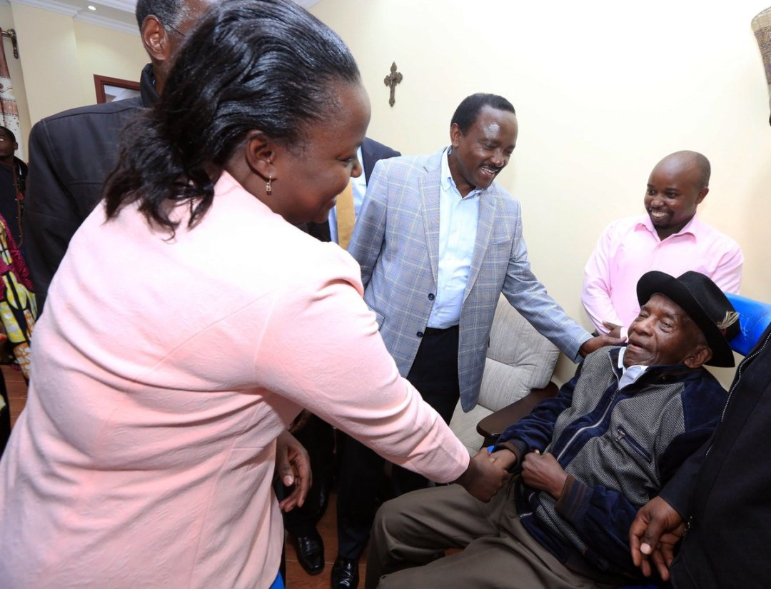 "Kalonzo Musyoka on Twitter: ""I was privileged to visit and pray ..."
