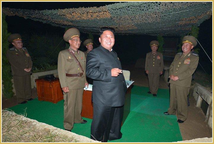 test ツイッターメディア - 金正恩党委員長朝鮮人民軍戦略軍のロケット発射訓練を指導する チュチェ103(2014)年7月https://t.co/K0Pq9K7Z6t