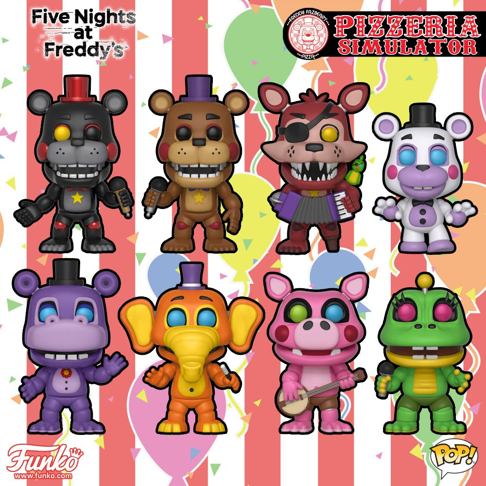 Funko On Twitter Coming Soon Five Nights At Freddys