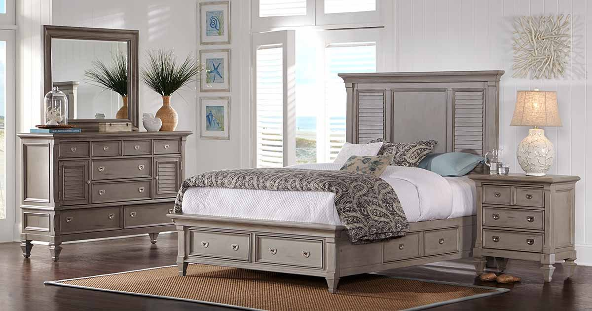 the belmar gray bedroom gives you