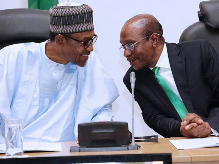 Image result for Why I refused to remove Godwin Emefiele as central bank governor - Buhari