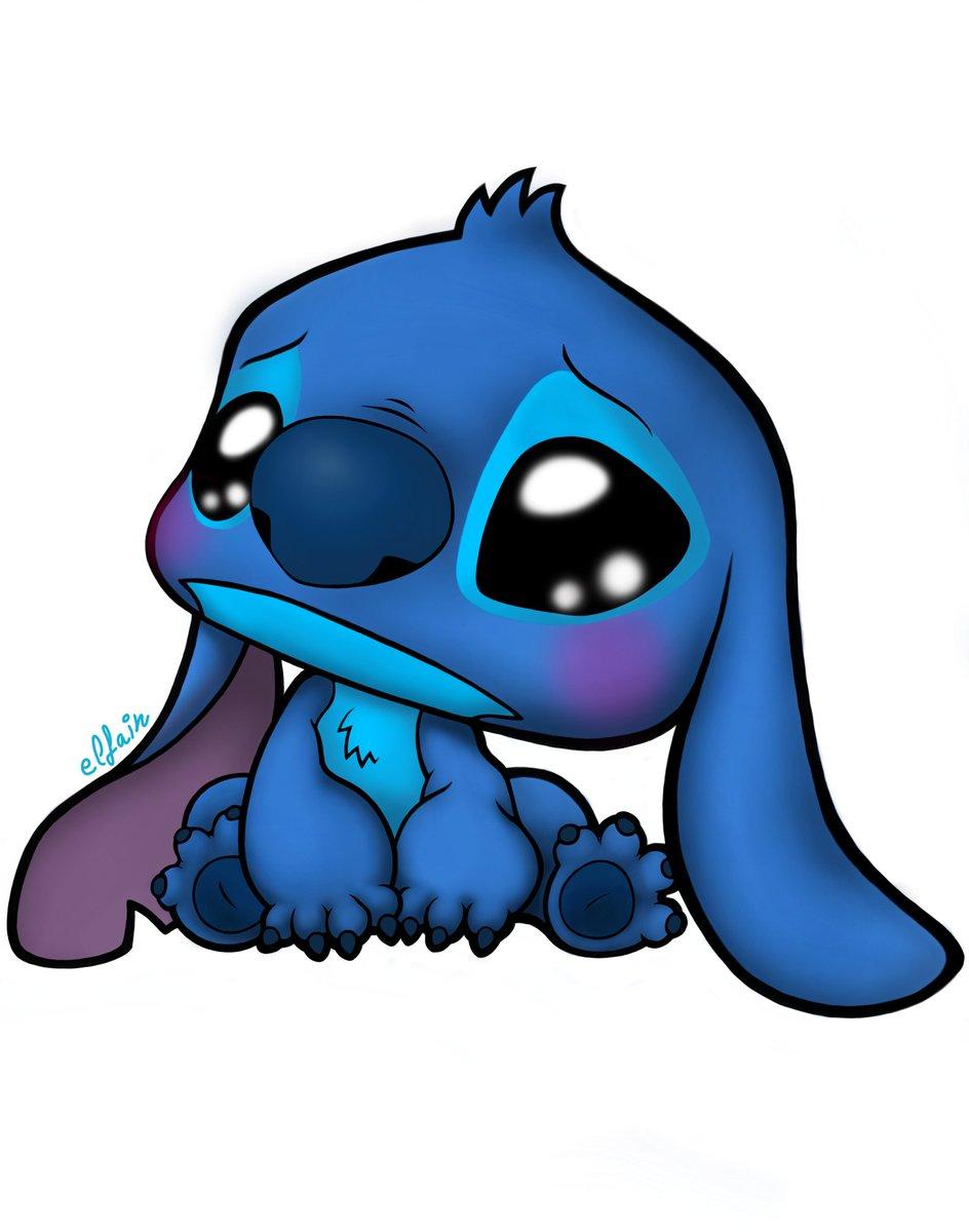 Stitch Kawaii : stitch, kawaii, Elfain, Twitter:,