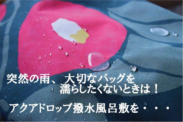 test ツイッターメディア - ブログ更新しました。梅雨の季節には、この1枚「アクアドロップ撥水風呂敷」!梅雨の時でも、楽しく風呂敷を使って頂きたいと思い、かねてからご紹介しているアクアドロップ撥水風呂敷をご紹介します。アウトドア・雨の時にも使える撥水加工のふろしきです。 https://t.co/Prm8tIRDe0