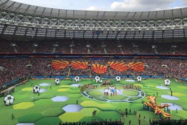بالصور .. حفل إفتتاح كأس العالم 2018 في روسيا 28