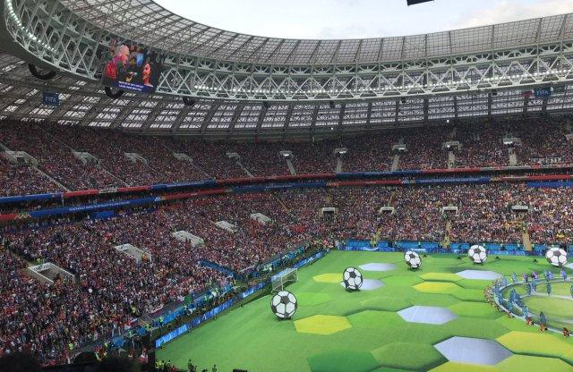 بالصور .. حفل إفتتاح كأس العالم 2018 في روسيا 31