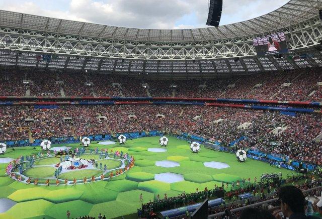 بالصور .. حفل إفتتاح كأس العالم 2018 في روسيا 30