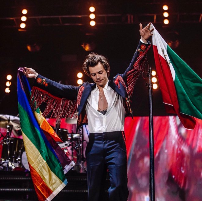 Image result for harry styles tour outfit mexico