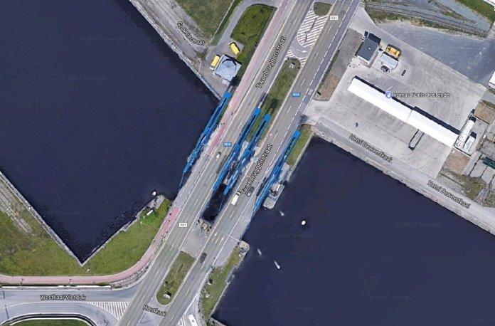 Afbeeldingsresultaat voor blauwe bruggen oostende