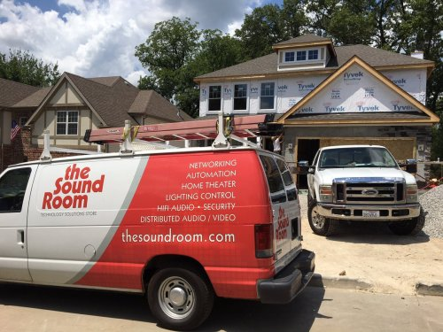 small resolution of here is our latest project with kingbridge homes llc this home has built in audio distribution structured wiring and infrastructure for
