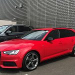 Ni Audi در توییتر Congratulations To Mr Marc Murphy Who Took Delivery Of His New Audia4 Avant Black Edition 2 0 Tfsi S Tronic Finished In Tango Red Best Of Luck With The New