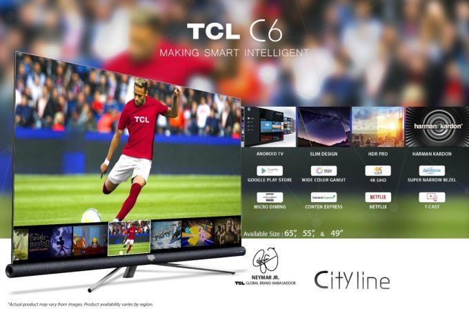 "Image result for TCL 49"" C6 UHD Android TV"