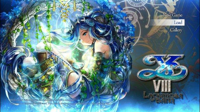 Ys VIII Lacrimosa of Dana Gallery - LightGames | Rainbow