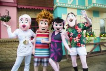 """Gulliver' Theme Park Resorts Twitter """" Characters"""