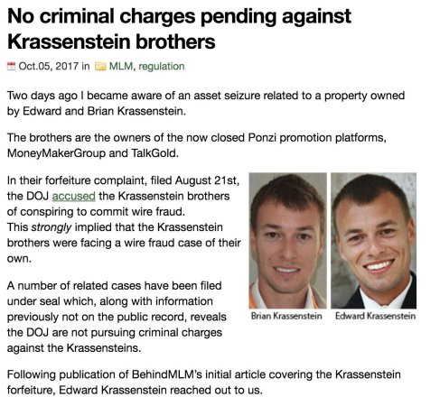 Image result for ponzi bros