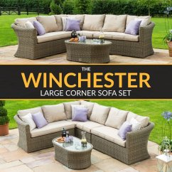 Maze Rattan Natural Milan Corner Sofa Set Green Cushions Led Table Mazerattan Hashtag On Twitter Https Www 121homefurniture Co Uk Winchester Win 203014 Features Thick Base And Back Glass Topped Coffee