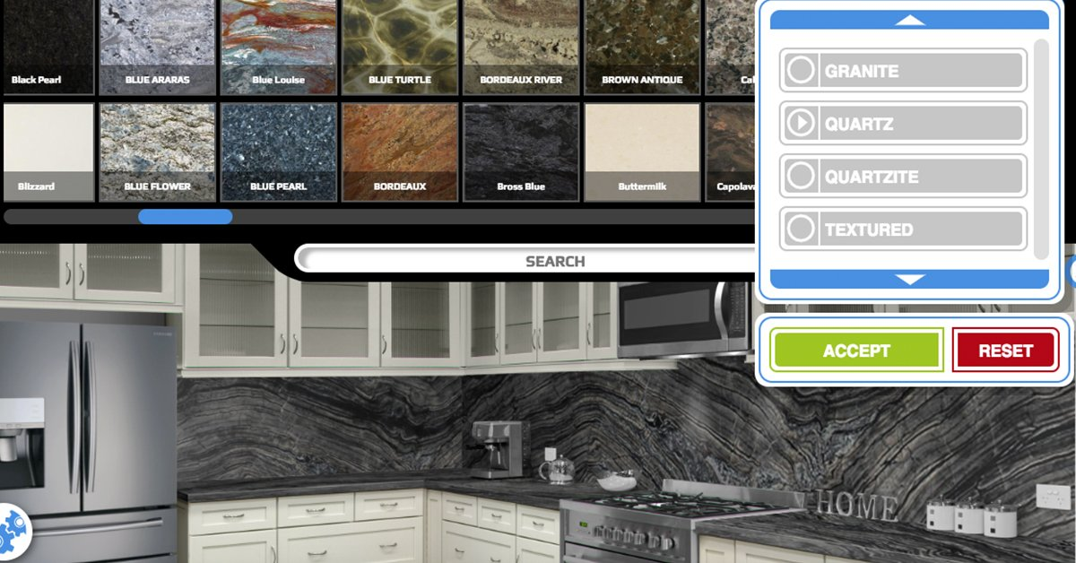 kitchen visualization tool wall shelves for colonial marble on twitter having a hard time visualizing which our visualizer is designed specifically to help you make confident stone selection try it free today at https bit ly 2znvz7s