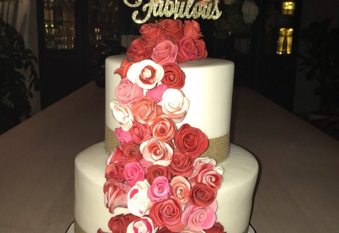 50th Birthday Cake For My Fabulous Mum Happy Birthday Baking