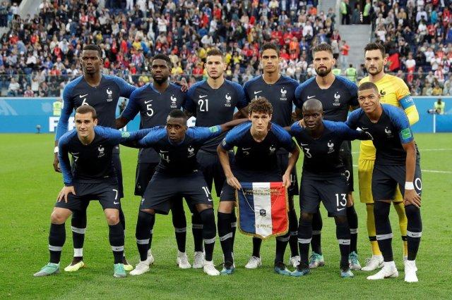 المنتخب الفرنسي إلى نهائي كأس العالم 25
