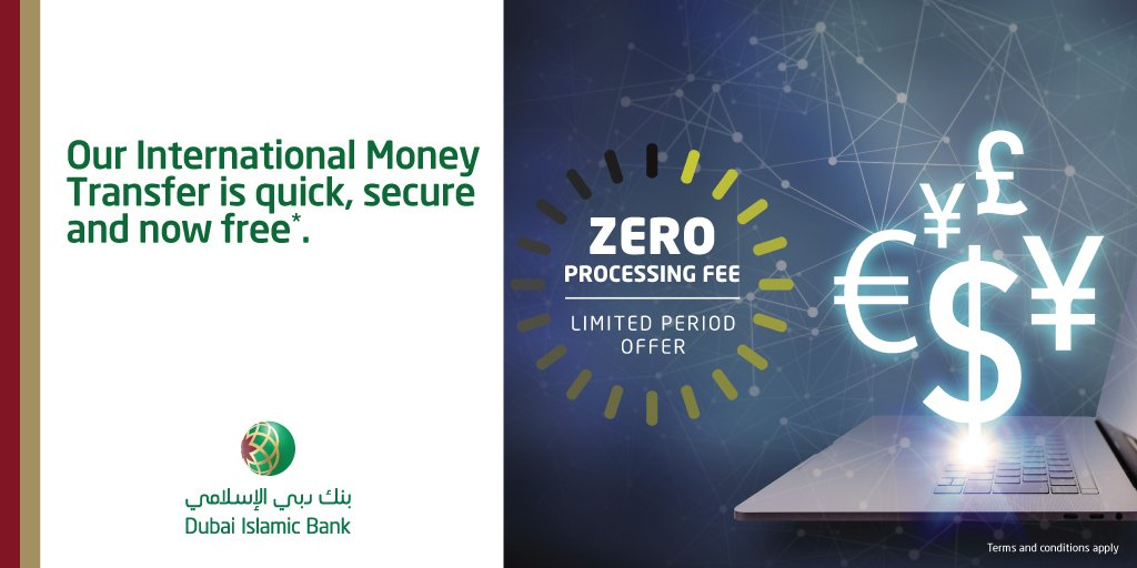 Dubai Islamic Bank On Twitter Here S An Exciting Offer For All Dib Customers You Can Now Enjoy International Money Transfer Free Of Any Charges Through Al Islami Online Banking Mobile Banking