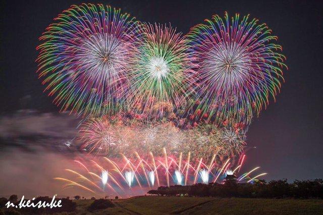 「利根川大花火大会」の画像検索結果