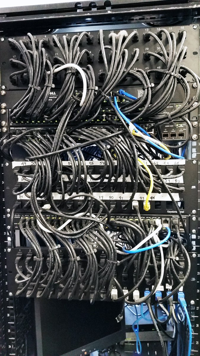 hight resolution of hightech innovations twitter wire wednesday now that s what we call tech art hti attentiontodetail neat server wiring networkinstallations