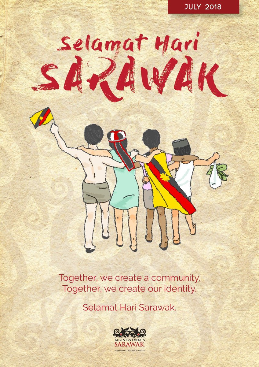 Logo Hari Ibu 2018 : Business, Events, Sarawak, Twitter:, Ever,, Remember, Together., Truly, Sarawak,, Pertiwiku., Convention