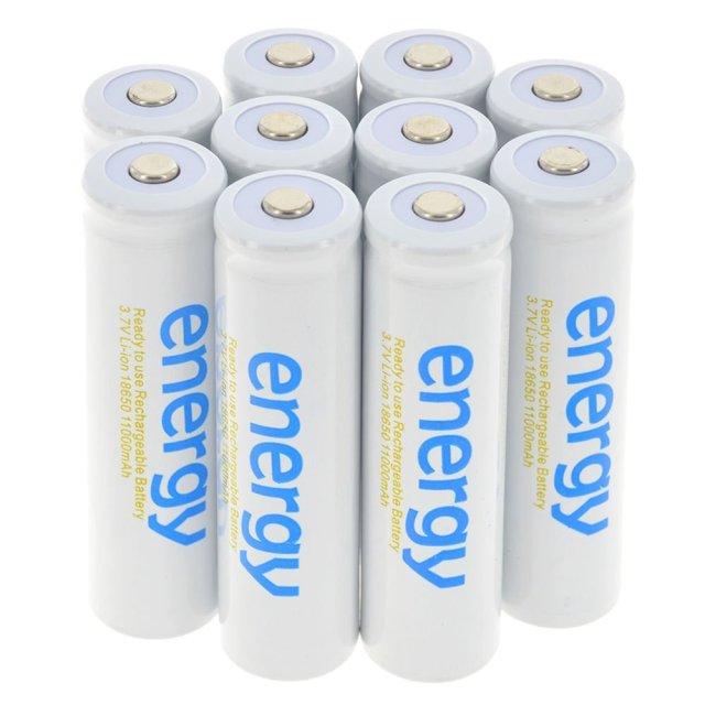 18650 11000mAh 3.7V Energy Recharg...: List Price: $6.2 Deal Price: $5.39 You...
