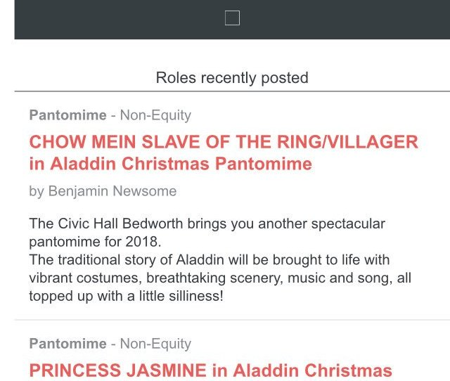 Spotlightuk Maybe Bedworthcivic Could Er Maybe Remove This Offensive Casting For Chow Mein Slave Of The Ring For The Panto This Year Pic Twitter Com
