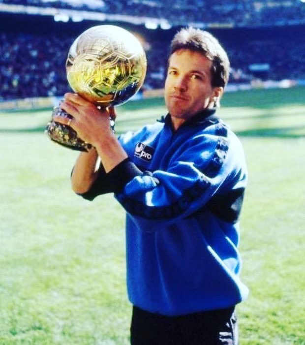 "Lothar Matthäus on Twitter: ""#ThrowbackThursday - Ballon d'or in 1991.… """