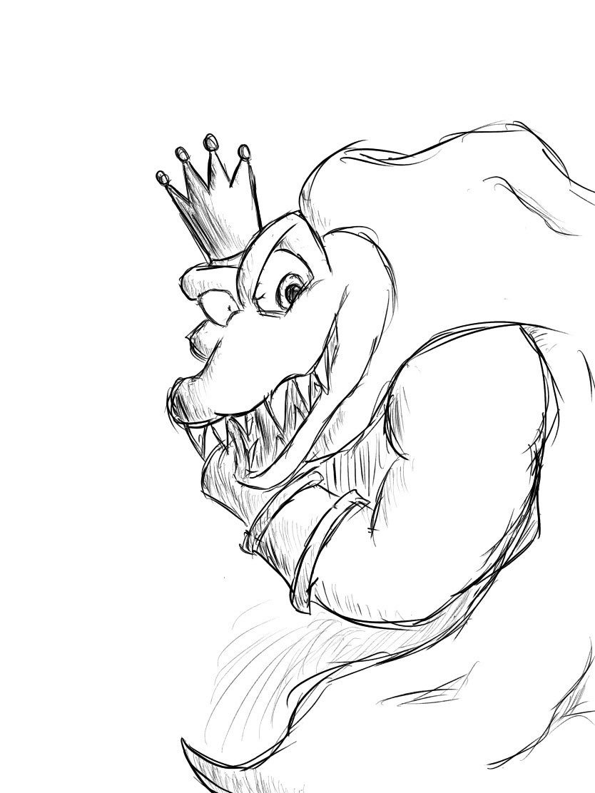 Super Smash Bros Ultimate Coloring Pages King K Rool