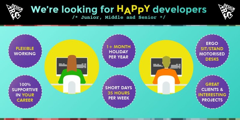 Developers wanted - Junior - middle - senior