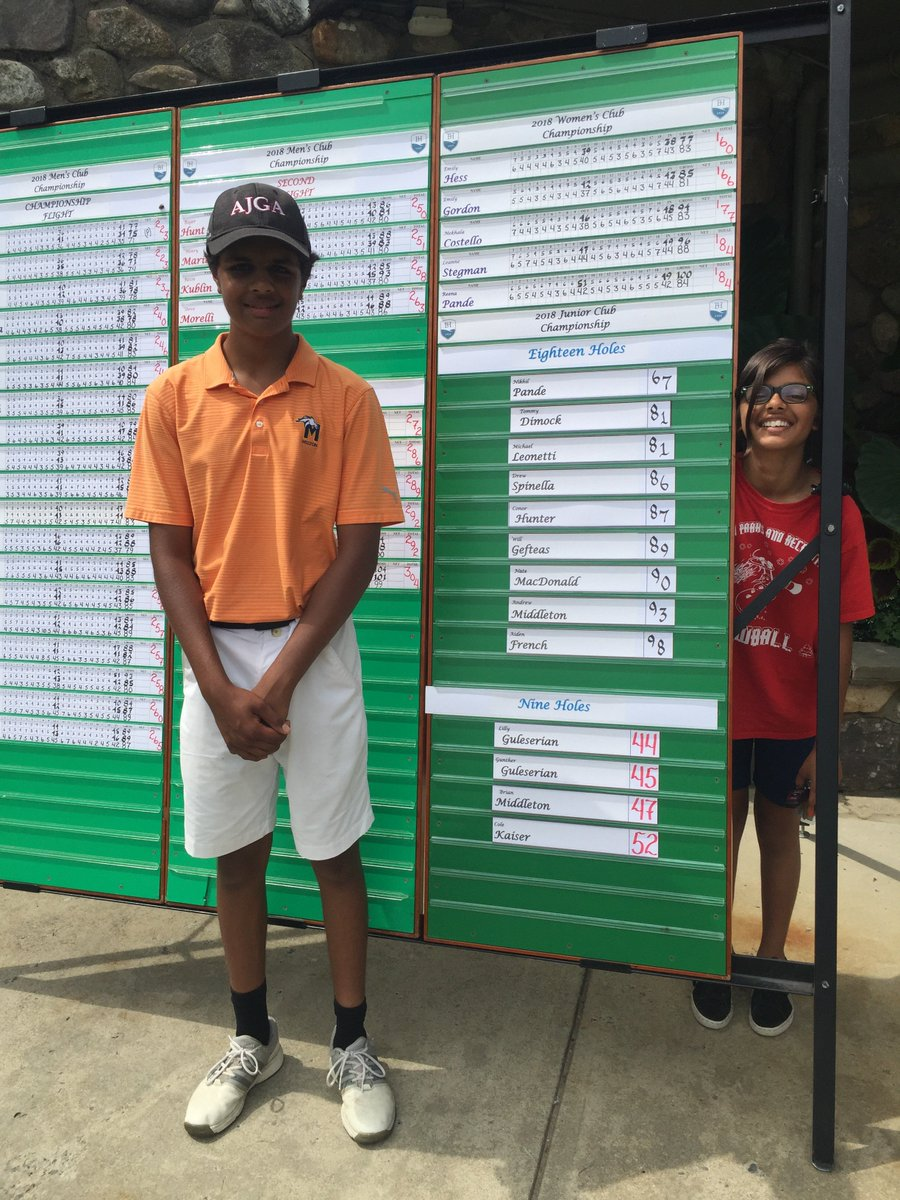 medium resolution of reena pande on twitter let this proud mama brag for just a sec my child my still 14 soon to be 15 year old child shot a lights out 5 under par round of